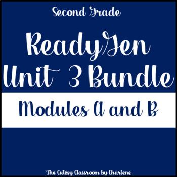 ReadyGen Unit 3 Module A and B Bundle Second Grade