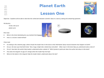 Planet Earth Powerpoint Slides Editable!