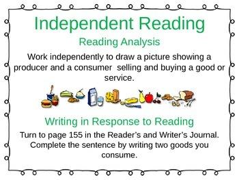 ReadyGen Unit 3 Module B - EDITABLE PowerPoint Lessons - Grade 1