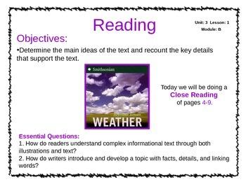 ReadyGen Unit 3 Module B - EDITABLE PowerPoint Lessons - Grade 3