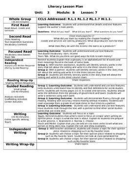 ReadyGen Unit 3 Module B Lessons 7-12