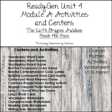ReadyGen Unit 4 Module A Centers and Activities Second Grade