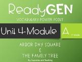 ReadyGen-Unit 4 Module A-Vocabulary Power Point 1st Grade