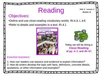 ReadyGen 2014-15 Unit 4 Module B - EDITABLE PowerPoint Les
