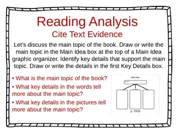 ReadyGen Unit 4 Module B - EDITABLE PowerPoint Lessons - Kindergarten