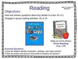 ReadyGen Unit 6 Module A - EDITABLE PowerPoint Lessons - Kindergarten