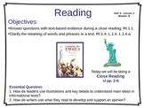 ReadyGen Unit 6 Module B - EDITABLE PowerPoint Lessons - Grade 1