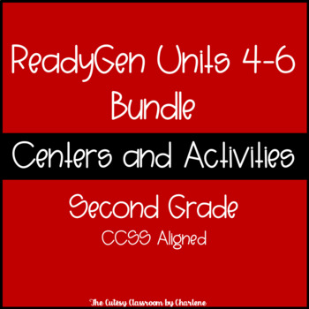 ReadyGen Units 4-6 Modules A and B Bundle Second Grade