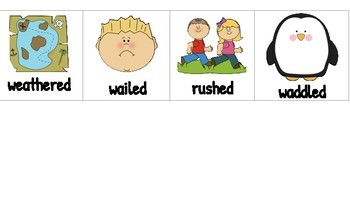 ReadyGen Vocab & Pics- Unit 1 Module A & B -Kindergarten