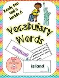 ReadyGen Vocabulary Unit 6 Module A