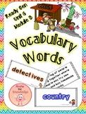 ReadyGen Vocabulary Unit 6 Module B
