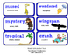 ReadyGen Vocabulary Word Wall Cards Unit 1A- 2016  Grade 1