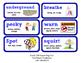 ReadyGen Vocabulary Word Wall Cards Unit 1B- 2016  Grade 1