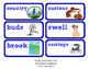 ReadyGen Vocabulary Word Wall Cards Unit 2A- 2016  Kindergarten