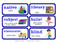 ReadyGen Vocabulary Word Wall Cards Unit 2B- 2016  Grade 1