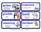 ReadyGen Vocabulary Word Wall Cards Unit 2B- 2016  Grade 3