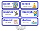 ReadyGen Vocabulary Word Wall Cards Unit 2B - 2016  Grade 4