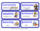ReadyGen Vocabulary Word Wall Cards Unit 3B- 2016  Grade 2