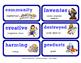 ReadyGen Vocabulary Word Wall Cards Unit 3B- 2016  Grade 2