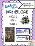 ReadyGen Vocabulary Word Wall Cards Unit 4A- 2016  Grade 2