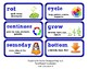 ReadyGen Vocabulary Word Wall Cards Unit 4B - 2016  Grade 1
