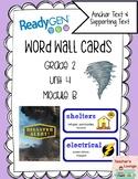 ReadyGen Vocabulary Word Wall Cards Unit 4B - 2016  Grade 2