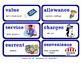 ReadyGen Vocabulary Word Wall Cards Unit 4B - 2016  Grade 4