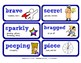 ReadyGen Vocabulary Word Wall Cards Unit 5A - 2016  Grade 1