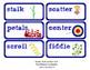 ReadyGen Vocabulary Word Wall Cards Unit 5B- 2016  Kindergarten