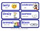 ReadyGen Vocabulary Word Wall Cards Unit 6A - 2016  Grade 1