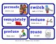 ReadyGen Vocabulary Word Wall Cards Unit 6A - 2016  Grade 2