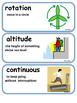 ReadyGen Weather Vocabulary Words 3rd Grade Unit 3 Module B