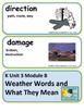 ReadyGen Weather Words and What They Mean Voc Kindergarten