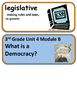 ReadyGen Who Really Created Democracy? Voc 3rd Grade Unit