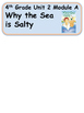 ReadyGen Why the Sea is Salty Vocabulary 4th Grade Unit 2 Module A