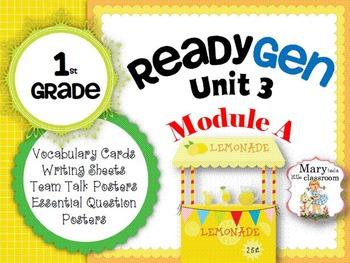 ReadyGen: Module 3A - 2012 Edition