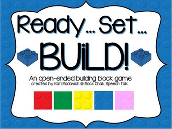Ready..Set..Build! An open-ended building block game