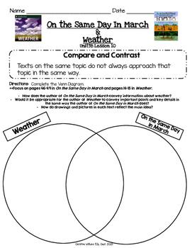 2014 Readygen 3rd Grade Unit 3 Module B Lesson 10 Compare and COntrast