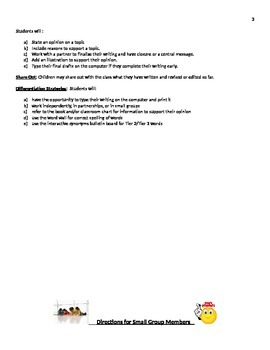 Readygen 2014 Grade 1 Module 3B lesson 11 lessonplan Supermarket/Goods Services