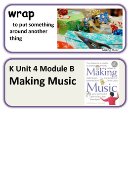 Readygen Making Music K Unit 4 Module B