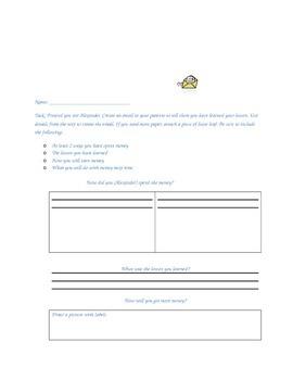 2nd Grade Readygen Unit 2 Module A Lesson 9 Reading Response