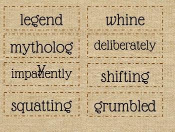 Readygen vocabulary 4th