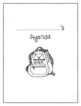 Readymade Student Agenda Book