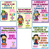 iReady Math Complete Unit 1 Bundle - Add and Subtract Number Sense 1st Grade