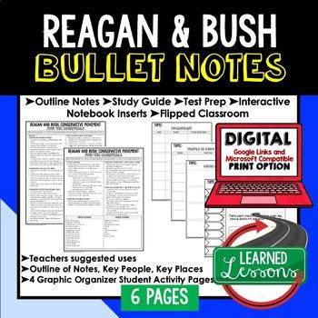 Reagan & Bush Conservatives Outline Notes JUST THE ESSENTIALS Unit Review