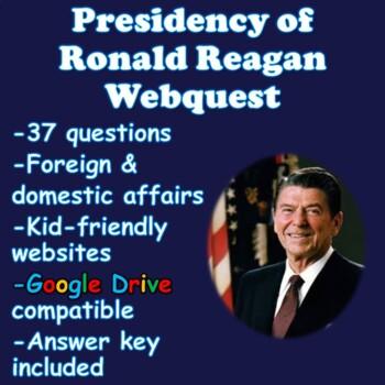 Reagan Era Webquest (Foreign and Domestic Affairs)