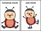 Real And Nonsense Word Sort Ladybug Theme