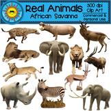 Real Animals African Savanna Clip Art