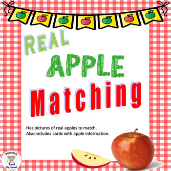 Sorting- Real Apple Matching