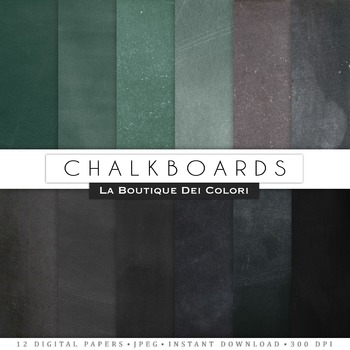 Real Chalkboard Digital Paper, scrapbook backgrounds.